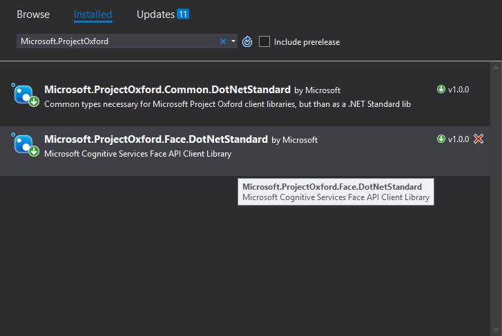 [Cognitive Services] Extendiendo Face API SDK para LargeFaceList